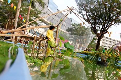 Ngắm cảnh làng quê Việt Nam ở khu nhà giàu - 7