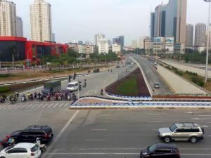 Tin tức trong ngày - Hà Nội: Cấm xe, phân luồng để người dân về quê ăn Tết