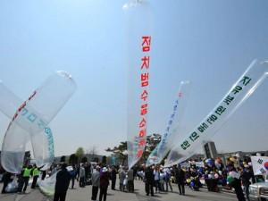 Triều Tiên thả giấy vệ sinh đã sử dụng vào Hàn Quốc?