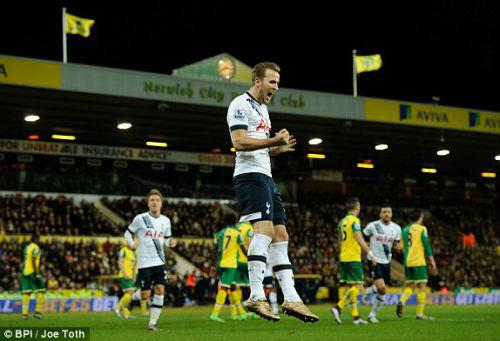 Norwich - Tottenham: Sô diễn của người Anh - 1