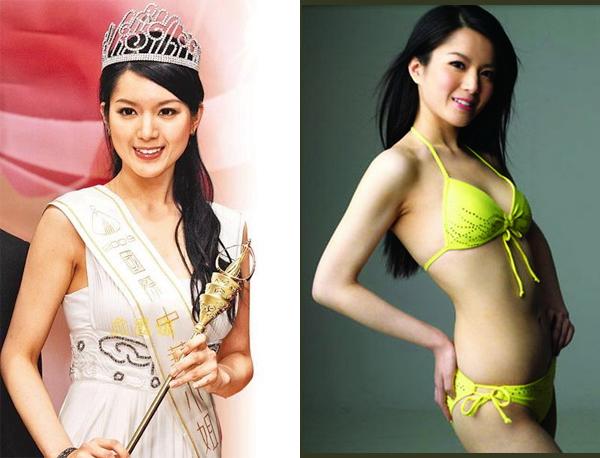 Hoa hậu Trung Quốc nhịn ăn, uống 10 ngày để giảm cân - 1