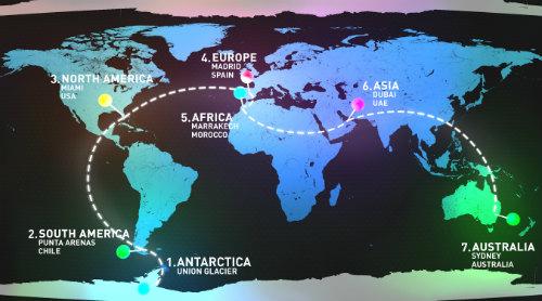 Cuộc thi Marathon 7 ngày chạy qua 7 lục địa - 1
