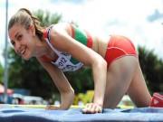 """Thể thao - Isobel Pooley: """"Chân dài"""" xinh xắn làng nhảy cao"""