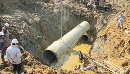 Truy tố 9 bị can trong vụ án vỡ đường ống nước Sông Đà - 1