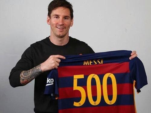 Messi cán mốc 500 bàn: Vĩ đại qua những con số - 1