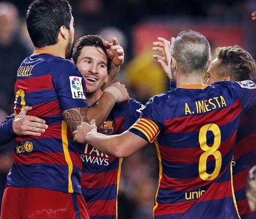 Barca bất bại 27 trận: Enrique đâu kém tài Guardiola - 1