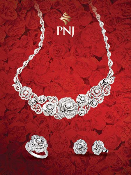 Ấn tượng trang sức tình yêu cho ngày Valentine - 2