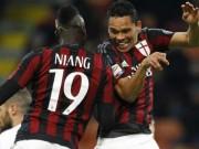 Video bàn thắng - Palermo - Milan: Cặp bài trùng cùng tỏa sáng