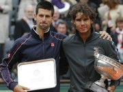 "Tennis - Djokovic muốn ""nhổ gai"" Nadal ở Roland Garros"