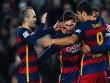 Đỉnh cao ban bật: Bộ ba MSN + Iniesta = Hoàn hảo