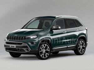Phác họa hình ảnh Jeep SUV Conpact mới
