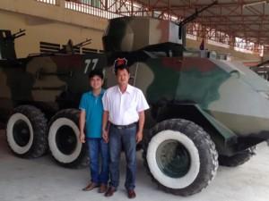 """""""Hai lúa"""" Việt chế tạo xe tăng: Người được Campuchia nể phục"""