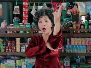 Thúy Nga nhảy Gentleman trong hài Tết 2016