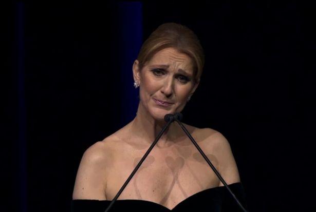 Celine Dion không ngừng rơi lệ trong đêm vinh danh chồng - 1