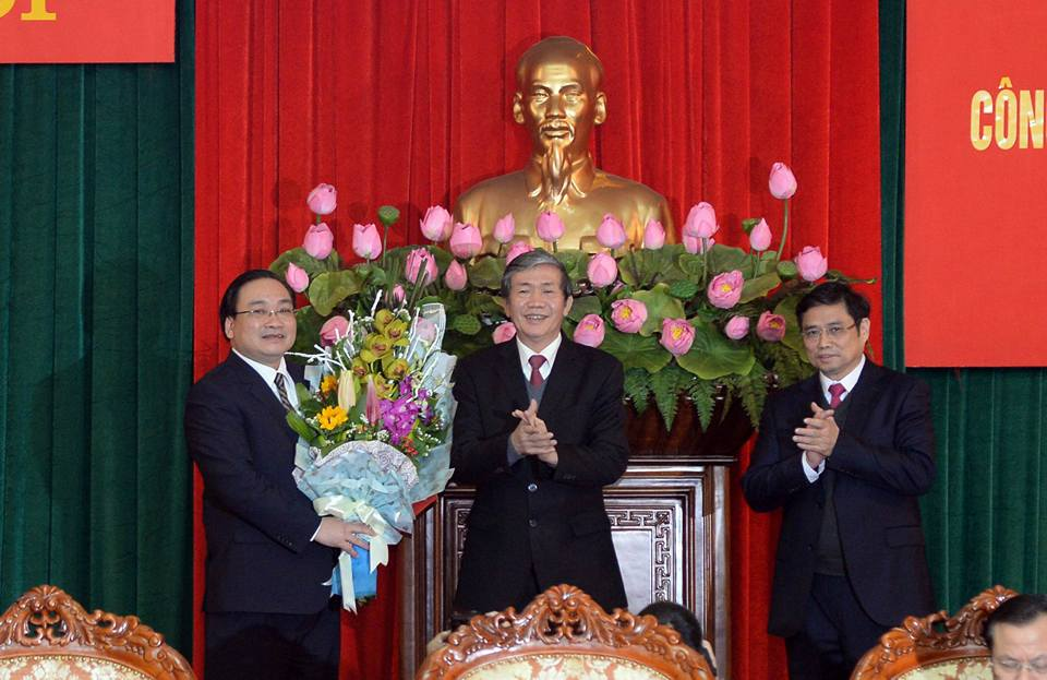 Ông Hoàng Trung Hải nhậm chức Bí thư Hà Nội - 1