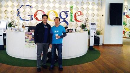 Chàng trai Việt bơm 'oxy tăng trưởng' cho Google - 1