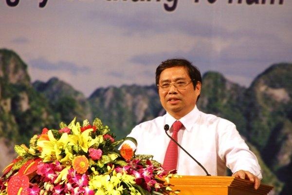Ông Phạm Minh Chính làm Trưởng ban tổ chức T.Ư - 1