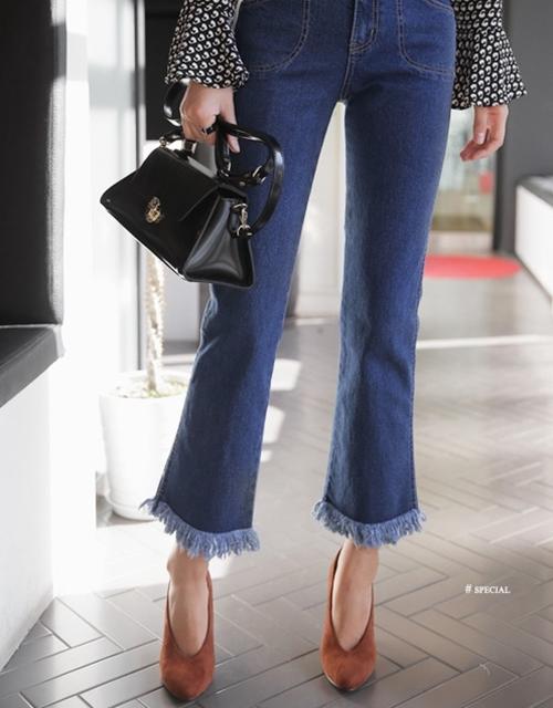 6 nguyên tắc không được quên với jeans lửng ống rộng - 2