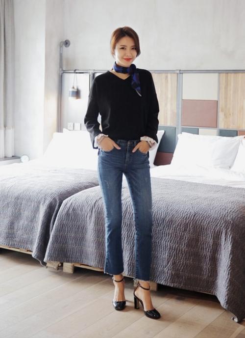 6 nguyên tắc không được quên với jeans lửng ống rộng - 3