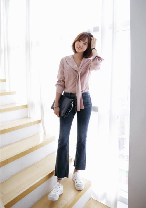6 nguyên tắc không được quên với jeans lửng ống rộng - 4