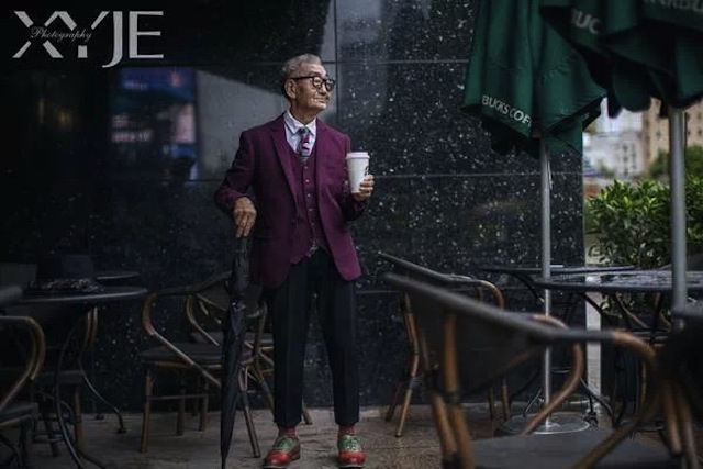 """Sự thực bất ngờ về """"cụ già sành điệu nhất Trung Quốc"""" - 5"""