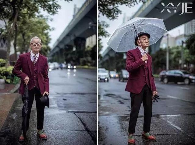 """Sự thực bất ngờ về """"cụ già sành điệu nhất Trung Quốc"""" - 4"""
