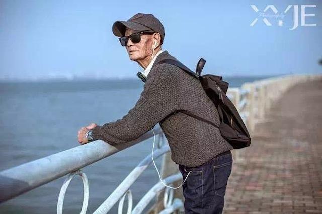 """Sự thực bất ngờ về """"cụ già sành điệu nhất Trung Quốc"""" - 6"""
