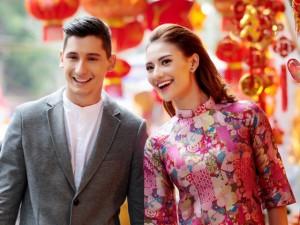 Thời trang - Hồng Quế diện áo dài, bên bạn nhảy dạo phố Hà Nội