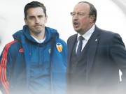 Bóng đá Tây Ban Nha - Rộ tin Valencia sắp đón Benitez về thay Neville
