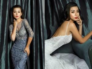 Lại Thanh Hương khoe vẻ quyến rũ với đầm dạ hội