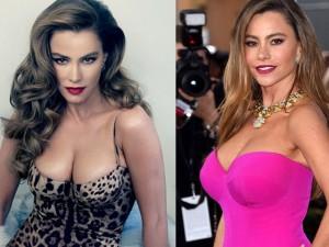 Mỹ nhân Colombia khổ sở chuyện váy áo vì ngực quá lớn