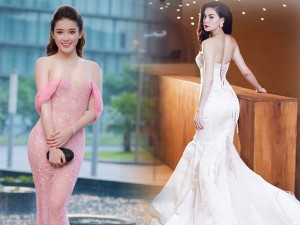 Thời trang - Top đầm đuôi cá sang chảnh 'nịnh dáng' của mỹ nữ Việt