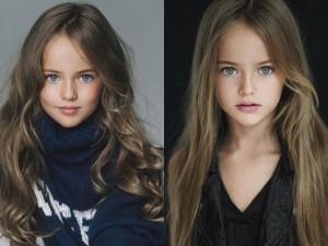 'Cô bé đẹp nhất thế giới' thành người mẫu chuyên nghiệp