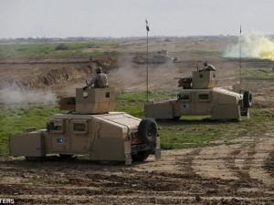 Iraq đào hào, xây tường quanh thủ đô để ngăn IS