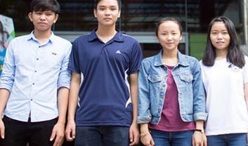 Gặp gỡ các thủ khoa ngành 2015-2016 của ĐH Duy Tân - 1