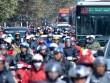 HN: Ùn tắc kinh hoàng trên đường Giải Phóng ngày 28 Tết