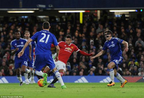 Chelsea - MU: Căng thẳng đến phút cuối - 1