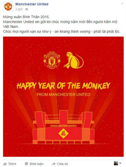 Đại gia châu Âu chúc Tết Việt Nam: Vui buồn fan MU - 4