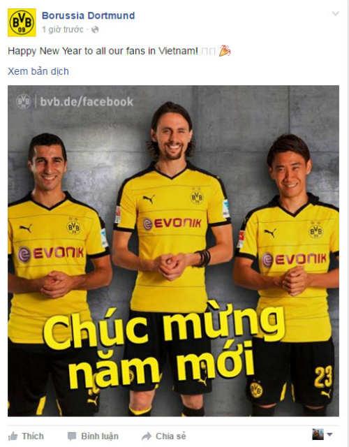 Đại gia châu Âu chúc Tết Việt Nam: Vui buồn fan MU - 1