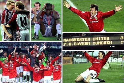 MU vô địch cúp C1 1999 kịch tính nhất lịch sử - 1