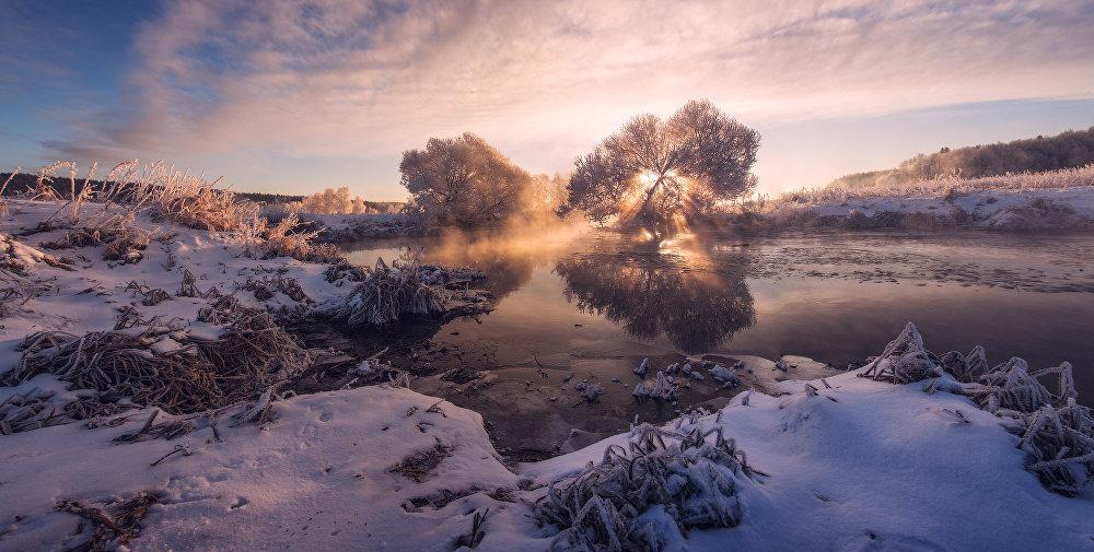 Ảnh: Cảnh tượng mùa đông đẹp như mơ ở Belarus - 5
