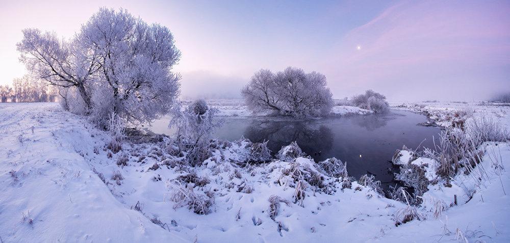 Ảnh: Cảnh tượng mùa đông đẹp như mơ ở Belarus - 6