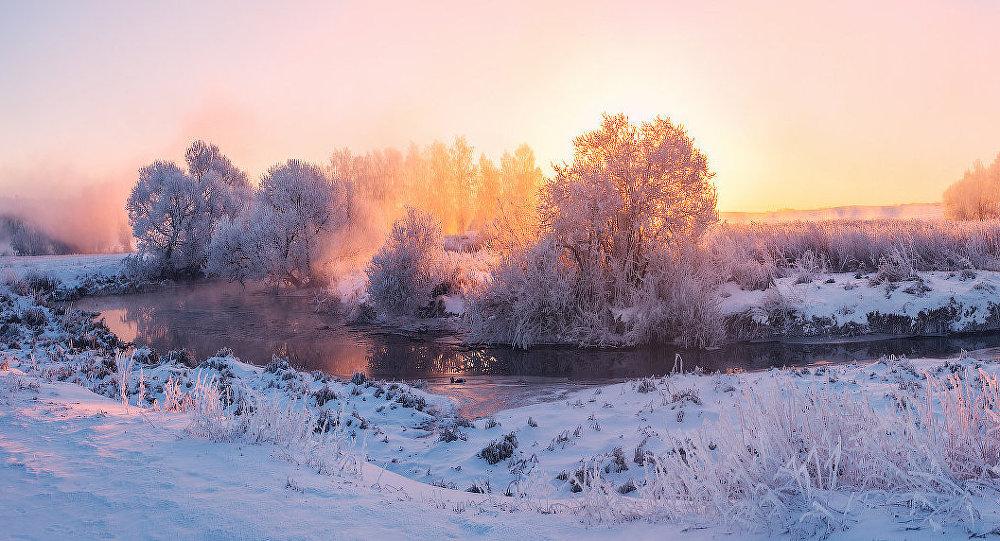 Ảnh: Cảnh tượng mùa đông đẹp như mơ ở Belarus - 7
