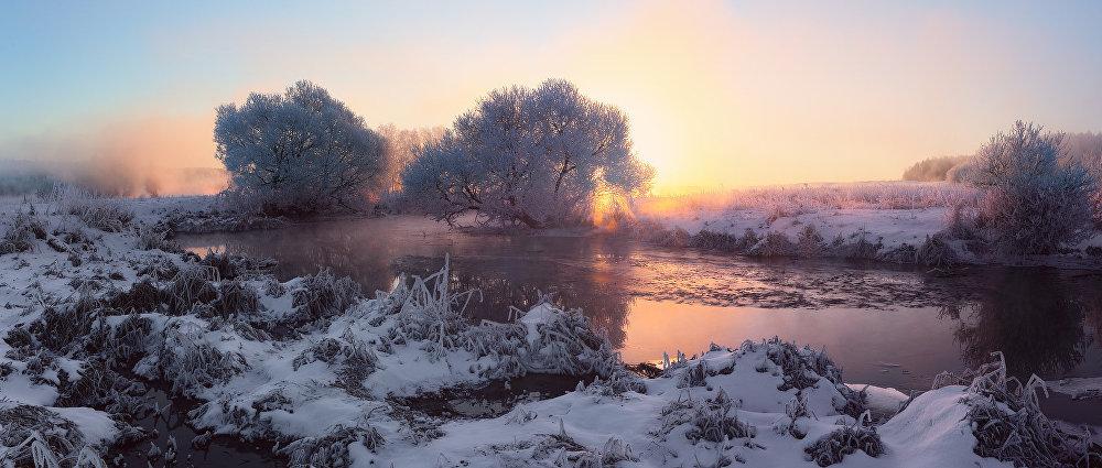 Ảnh: Cảnh tượng mùa đông đẹp như mơ ở Belarus - 10