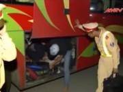 Video An ninh - Hãi hùng nhà xe nhồi nhét khách trong cốp khóa kín