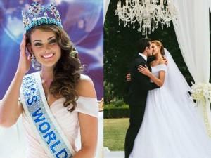 Ngỡ ngàng vì đám cưới cổ tích của Hoa hậu Thế giới 2014