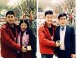 Xuân Trường gởi lời chúc Tết từ Hàn Quốc