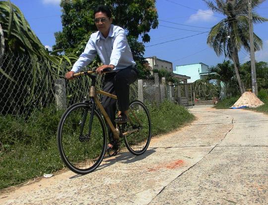 Xe đạp tre xuất ngoại - 2