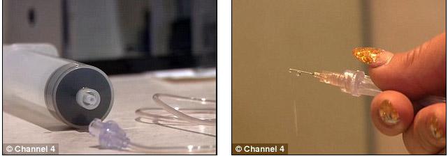 Người mẫu có vòng 1 khổng lồ vì tiêm nước muối vào ngực - 4
