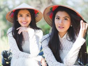 Bạn trẻ - Cuộc sống - Hoa khôi Miss Du học sinh thướt tha áo dài ngày xuân